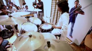 AR RAHMAN MUSIC SCHOOL Adina Drums SOLO 01 YouTube sharing