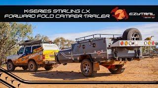Ezytrail Stirling LX Forward Folding Camper Trailer Walk-Through