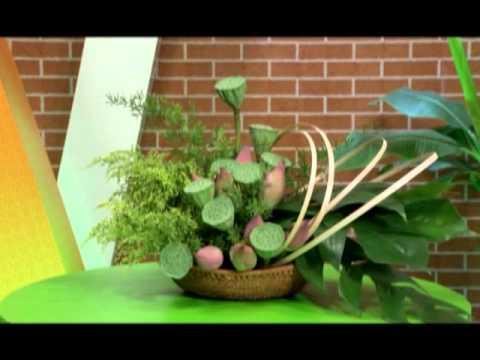 Nghệ thuật cấm hoa theo phong cách đồng quê - Tận Hưởng Cuộc Sống [SCTV7 -- 18.10.2013]