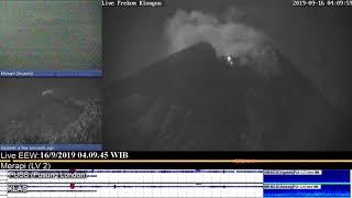 Mt Merapi - 16/09/2019 04:06 WIB