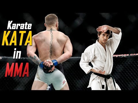 This is How Traditional Karate Kata & Kumite Techniques are used in MMA | Karate Culture