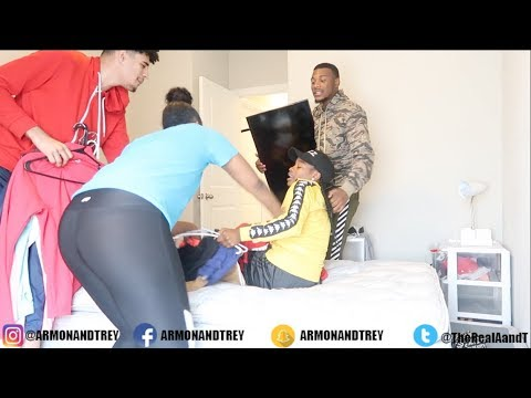 Putting Cierra And Jordan out of the house PRANK!!! FT. PerfectLaughs