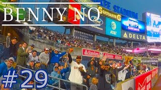 YANKEE STADIUM WITH THE SOFTBALL CREW | BENNY NO | VLOG #29