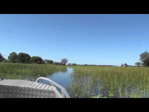 Beautiful Land-Okavango Delta-Botswana