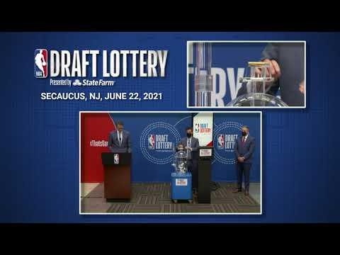 2021 NBA Draft Lottery Drawing