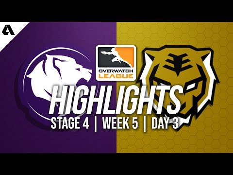 Los Angeles Gladiators vs Seoul Dynasty | Overwatch League Highlights OWL Stage 4 Week 5 Day 3
