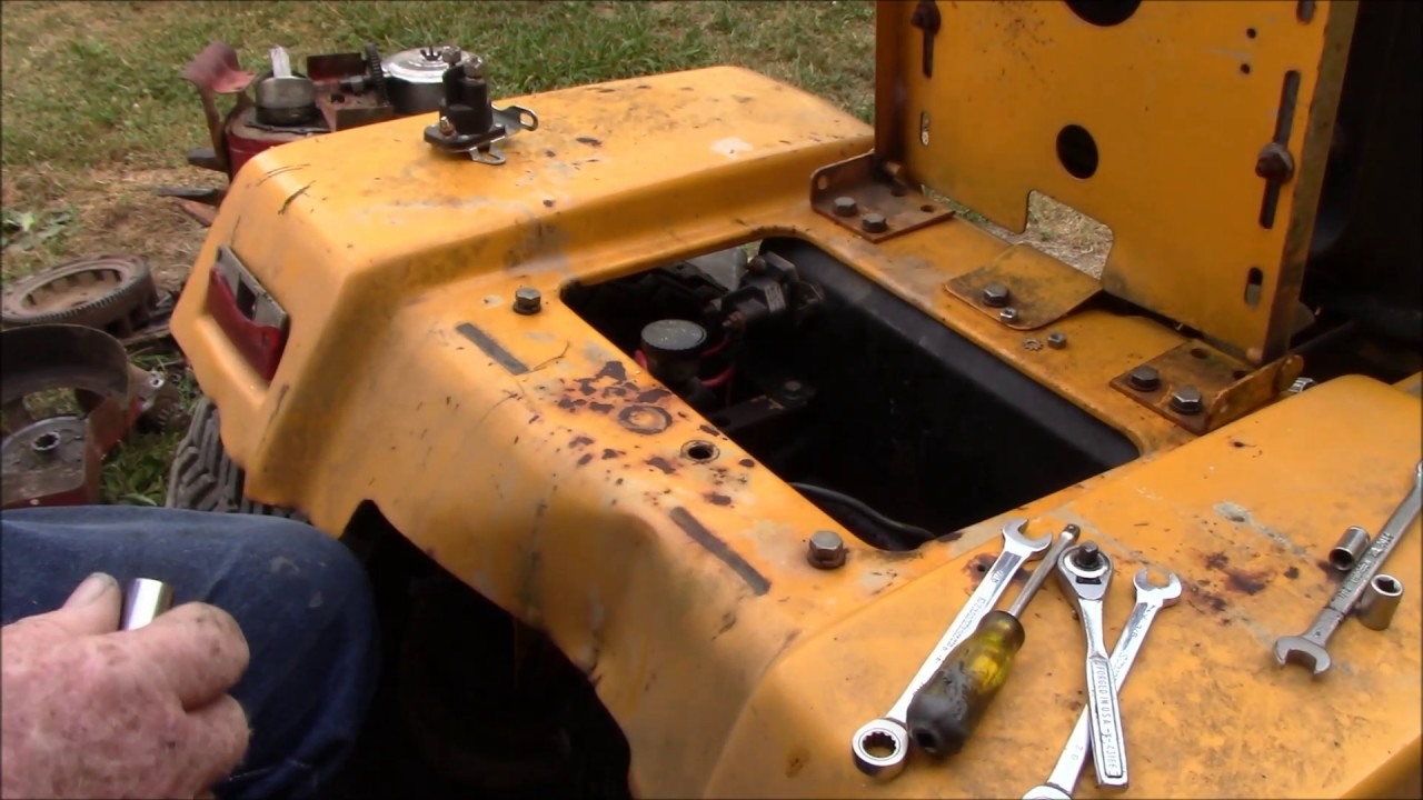 Replacing Starter Solenoid on Cub Cadet  YouTube