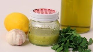 Lemon & Garlic Vinaigrette Recipe - Laura Vitale - Laura In The Kitchen Episode 430