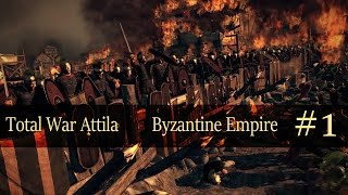 Total War Attila : Byzantine Empire #1
