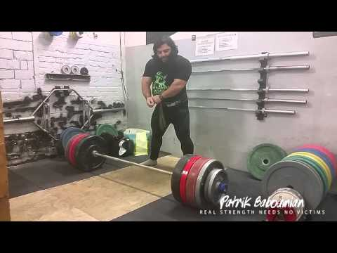 Very easy 330kg and 350kg deadlifts