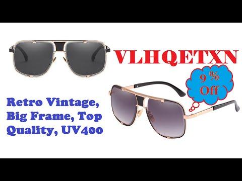brand-designer-sunglasses-for-men-women,-retro-vintage,-big-frame,-top-quality,-uv400