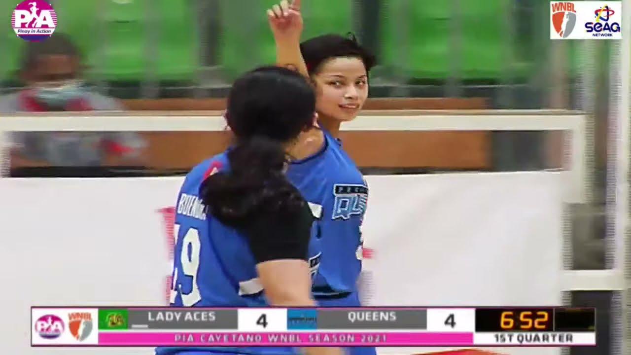 Download LIVE: 2021 Pia Cayetano WNBL season eliminations - Parañaque Lady Aces vs Pacific Water Queens