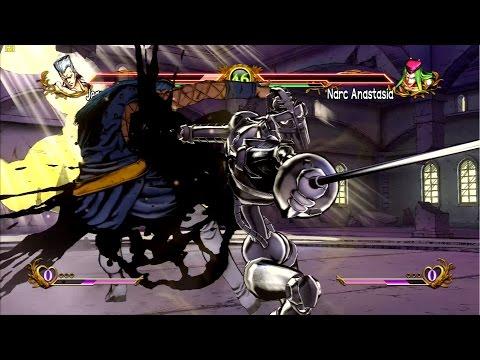 JoJo's All Star Battle:  Narciso Anasui's Search for Waifu Ep#39 - HD