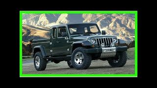 New Jeep pickup is a Gladiator, report says | k production channel
