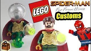 Spider-Man Far From Home LEGO Custom Minifigures