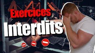 5 Exercices à ÉVITER en Musculation