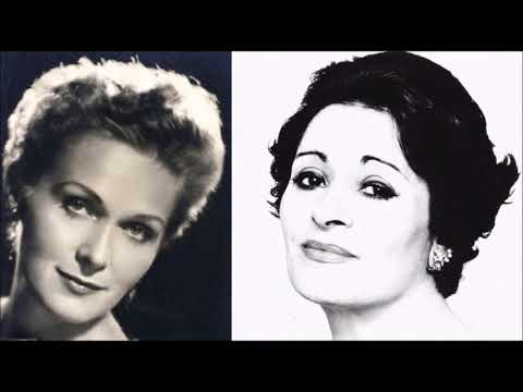 Dame Elisabeth Schwarzkopf and Victoria de los Ángeles Heavenly Blend