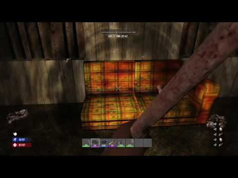 7 Days To Die How To Get Leather And Cloth Easy
