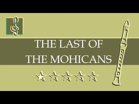 Recorder & Guitar Duet - Promentory - The Last of the Mohicans Theme (Sheet music - Guitar chords)