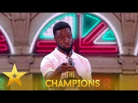 Preacher Lawson: LMAO! Comedian Leaves Audience in Hysterics!| Britain's Got Talent: Champions