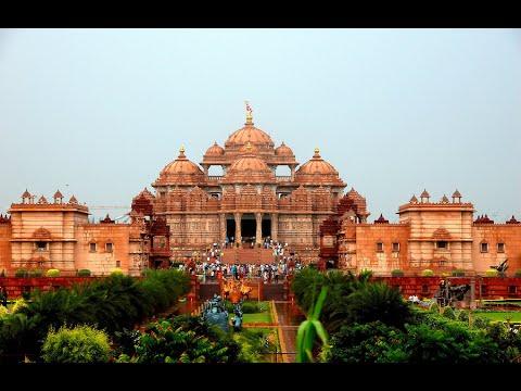 Visiting Akshardham, Building Complex in New Delhi, India