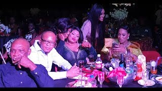 Helen Paul Got Dayo Amusa Fathia Williamsothers laughing With His Jokes  at BON Awards