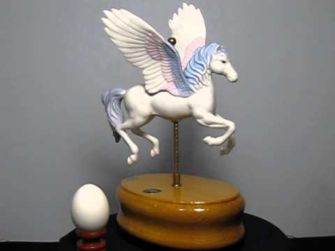 Flying horse music box series