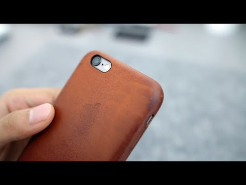 iPhone 6S Saddle Brown Leather Case After 2 Months