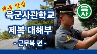 육군사관학교(육사) 제복 대해부 - 근무복 편