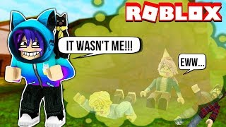 I FARTED AND EVERYONE DIED! Making The Smelliest Fart In Roblox Fart Attack!