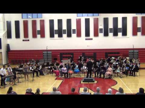 Soft shoe Rag - Rittman Ohio High School Band 2015