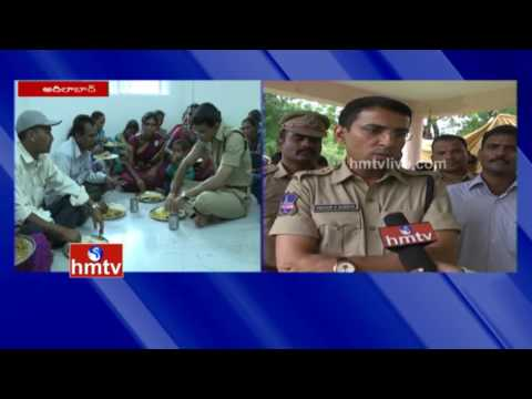 SP Vikram Jeet Duggal Reach Out To Villagers In Adilabad | Face To Face | HMTV