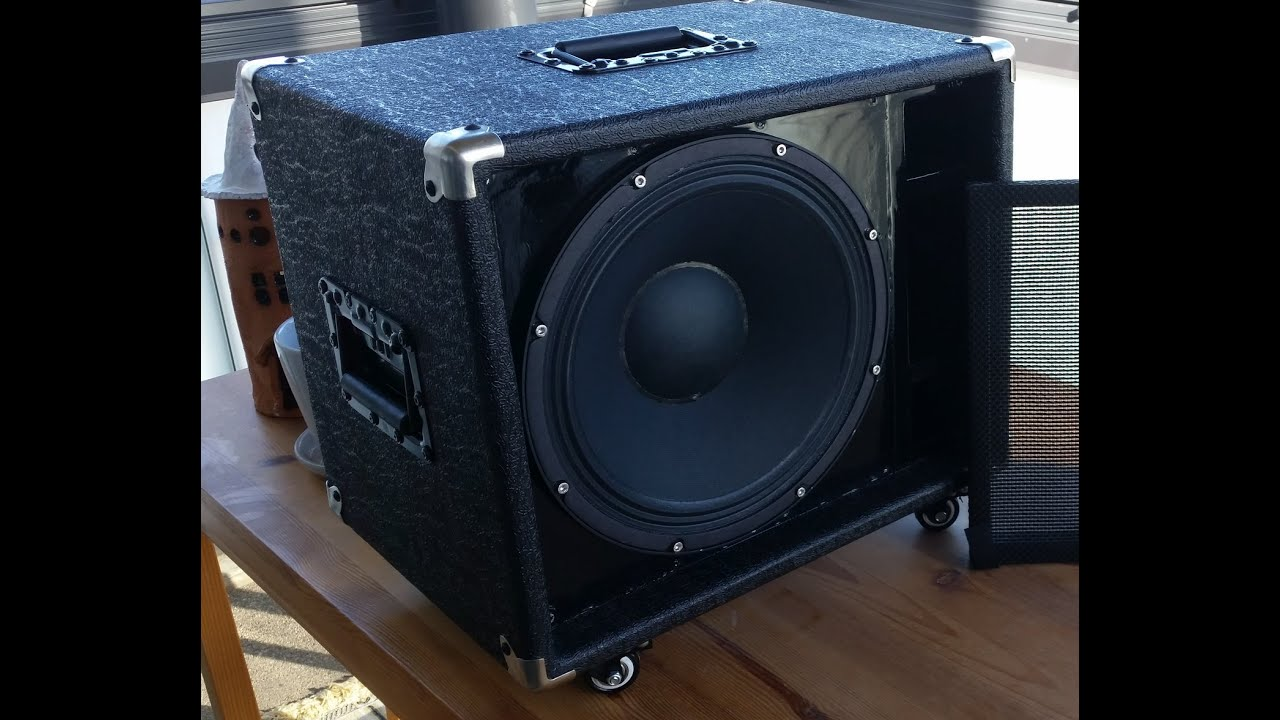 Thiele TL806 guitar cabinet  YouTube