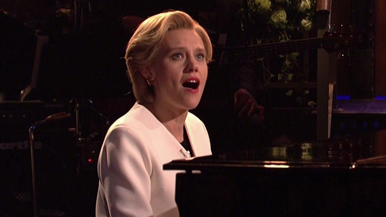 Kate Mckinnon Channels Hillary Clinton In Emotional