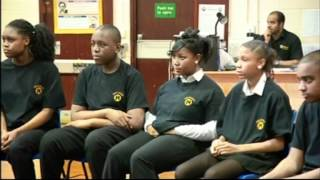 Two Americans teaches Othello in a Birmingham school