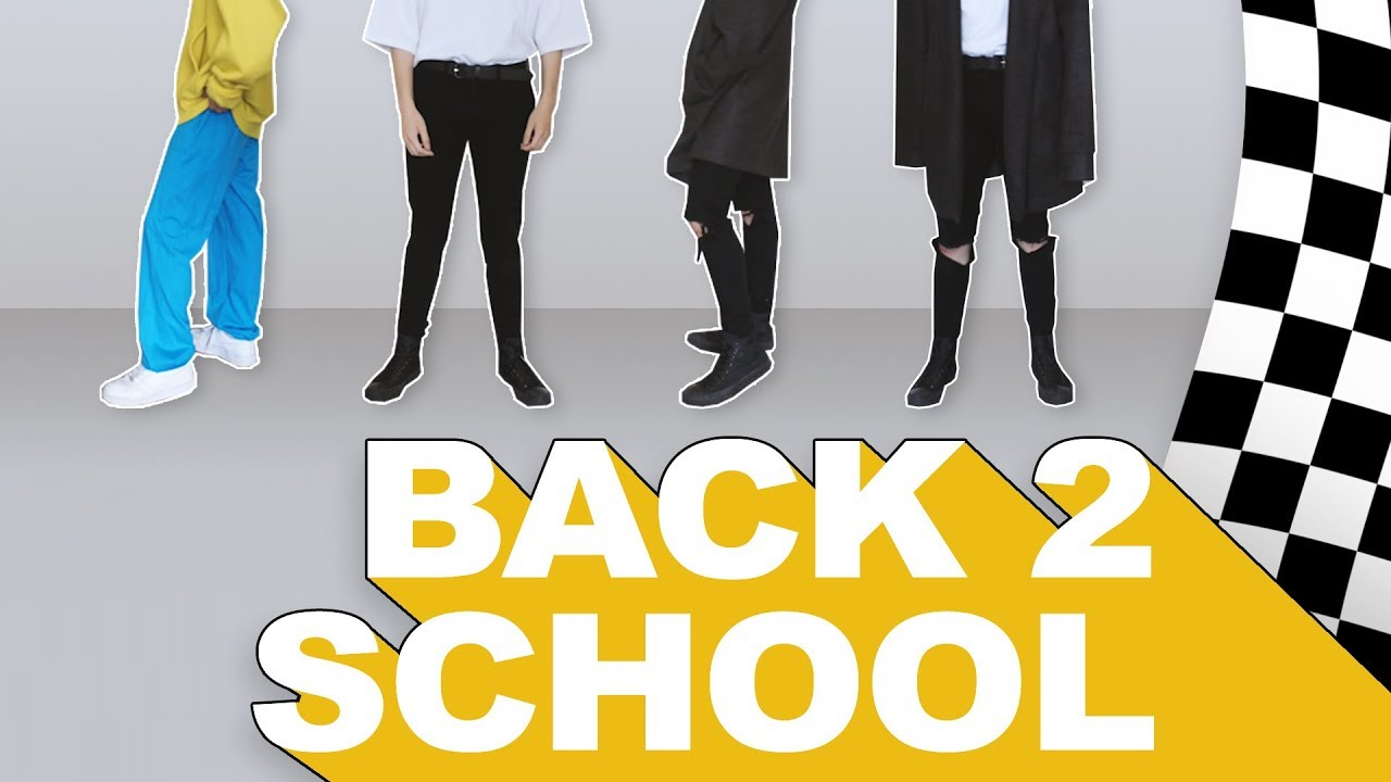 [VIDEO] - BACK TO SCHOOL LOOKBOOK ☆ so cool !! 1