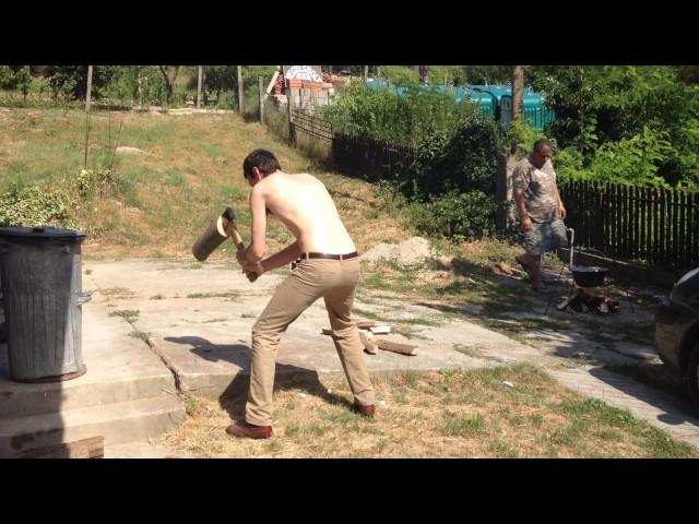 2016 Métatábor - Fekete Marci Kispuma - amikor a brácsás dolgozik :-)))
