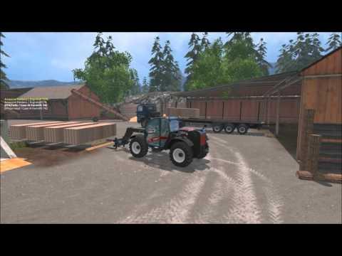 FS15 MULTI / La ferme Allemande / S3Ep2:  Fabrication des Palettes et des cartons