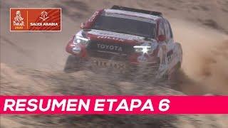 Alonso termina sexto, Sainz aumenta su liderato | Resumen Etapa 6 Dakar 2020