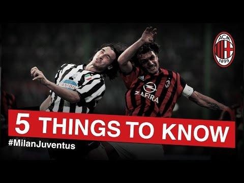 AC Milan-Juventus: 5 things to know | AC Milan Official