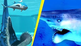 5 Predators More Dangerous Than Megalodon! #2