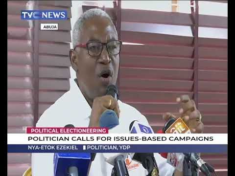 Politician calls for issue-based campaigns