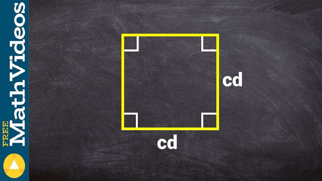 how to find the area of a square