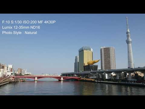 Lumix G8 Test Movie :Comparison Preset Photo Style