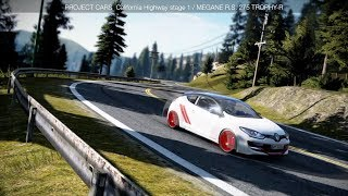 [ PROJECT CARS ] MEGANE R.S. 275 TROPHY-R で峠道を走る