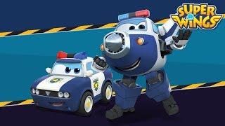 Police Car Song | Superwings M/V | English Song | Car Song