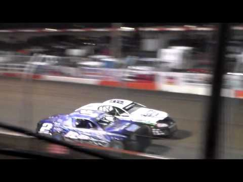 Stock Car Amain @ Beatrice Speedway Spring Nationals 03/12/16