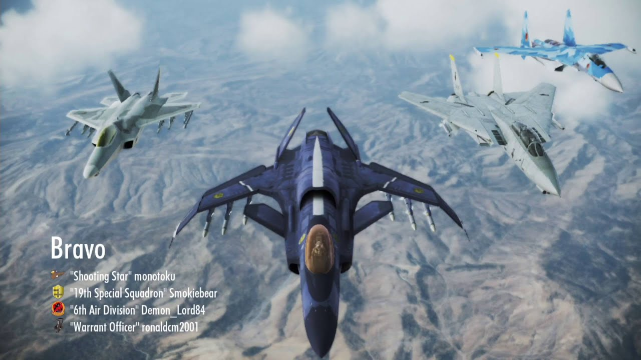 The Round Table Ace Combat.Ace Combat Infinity Tdm Back Again Demon Lord Of The Round Table