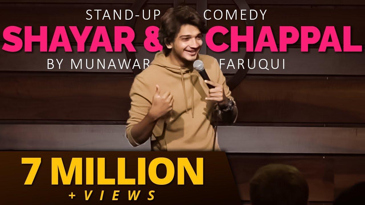 Shayar, Minder & Chappal | Stand Up Comedy | Munawar Faruqui
