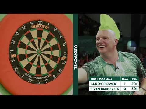 Paddy Learns Darts: Episode 3 – The Match vs Raymond van Barneveld